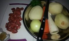krompir paprikaš sa kobasicama